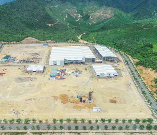 DINCO E&C EXCEEDING THE PROGRESS OF GROZ-BECKERT PHASE II PROJECT