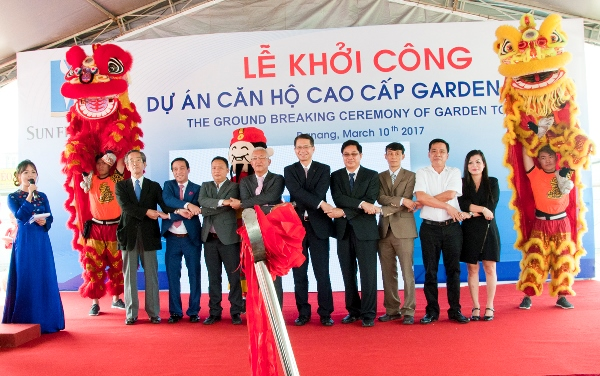GROUNDBREAKING CEREMONY OF GARDEN TOWER PROJECT
