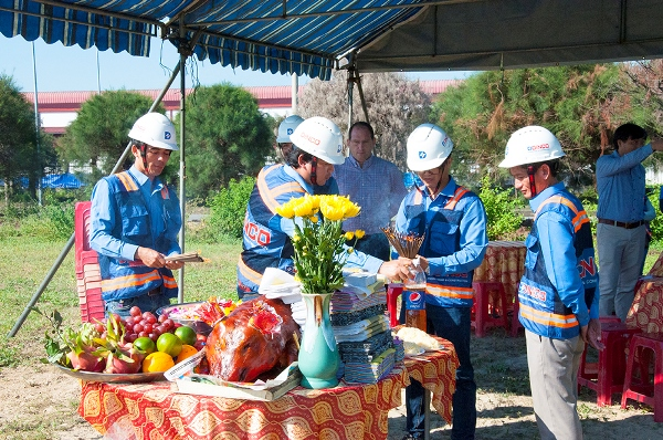 GROUND BREAKING OF RELATS VIETNAM FACTORY