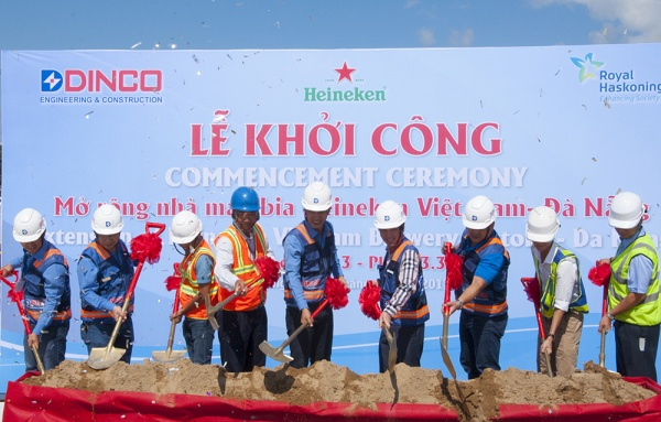 COMMENCEMENT CEREMONY EXTENSION OF HEINEKEN VIETNAM BREWERY FACRORY – DA NANG PHASE 3.3