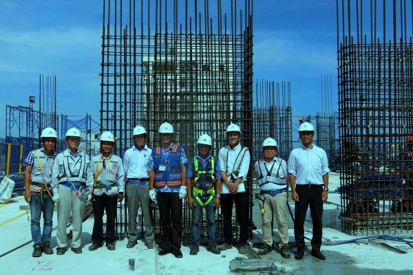 (Tiếng Việt) CHỦ TỊCH SUN FRONTIER THĂM CÔNG TRÌNH HIYORI GARDEN TOWER