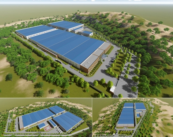 DINCO E&C WINNING HAPPY FURNITURE FACTORY PROJECT WITH TOTAL VALUE OF VND 280 BIL