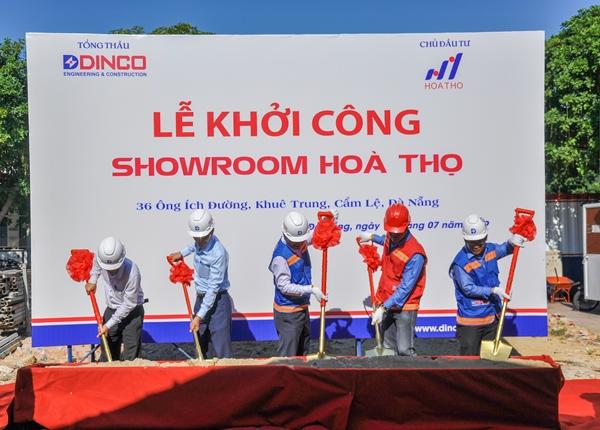 DINCO E&C COMMENCING HOA THO TEXTILE COMBINATION BUILDING OF FASHION GARMENT CENTER – SHOWROOM – OFFICE.