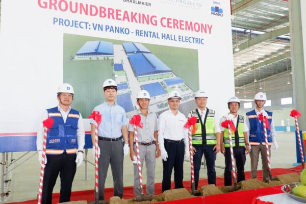 (Tiếng Việt) Lễ khởi công dự án VN PANKO- RENTAL HALL ELECTRIC (2020)
