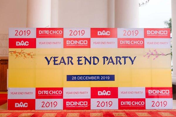 YEAR END PARTY DINCO E&C 2019 – LÃNH ĐẠO HIỆU QUẢ
