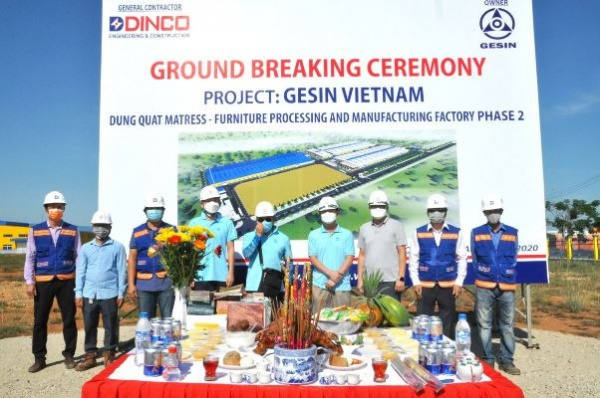GENSIN PHASE 2 PROJECT GROUNDBREAKING CEREMONY