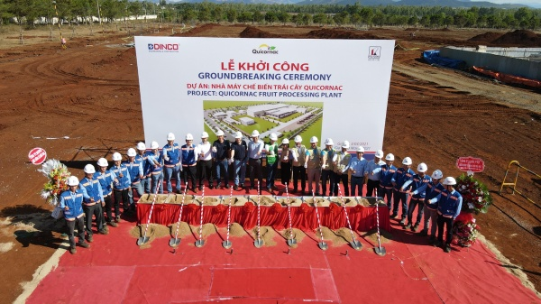 GROUNDBREAKING CEREMONY OF QUICORNAC FRUIT PROCESSING PLANT PROJECT