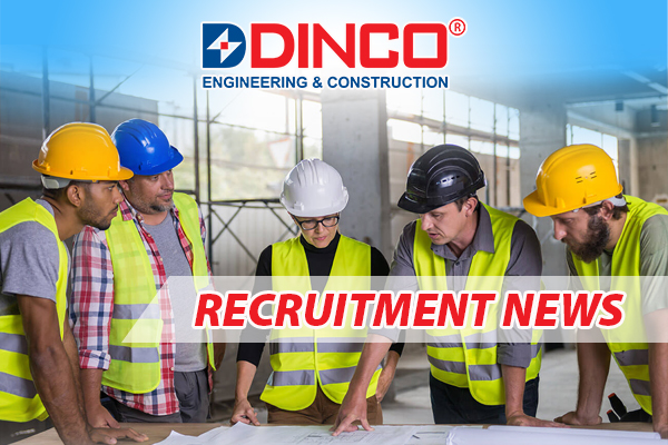 RECRUITMENT NEWS POSITION: QA-QC ENGINEER – 5 PERSONS (MALE)